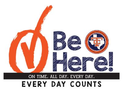 Be Here logo